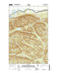 Wheelock Maine Current topographic map, 1:24000 scale, 7.5 X 7.5 Minute, Year 2014