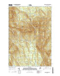 Witham Mountain Maine Current topographic map, 1:24000 scale, 7.5 X 7.5 Minute, Year 2014