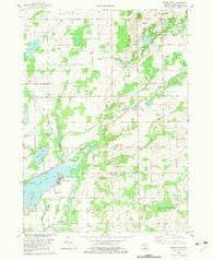 Adams Park Michigan Historical topographic map, 1:24000 scale, 7.5 X 7.5 Minute, Year 1982