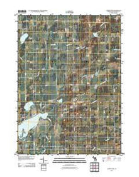Adams Park Michigan Historical topographic map, 1:24000 scale, 7.5 X 7.5 Minute, Year 2011