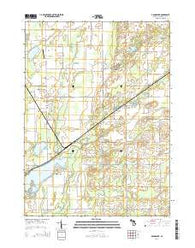 Adams Park Michigan Historical topographic map, 1:24000 scale, 7.5 X 7.5 Minute, Year 2014