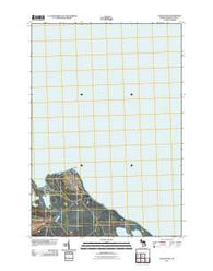 Adams Point Michigan Historical topographic map, 1:24000 scale, 7.5 X 7.5 Minute, Year 2011