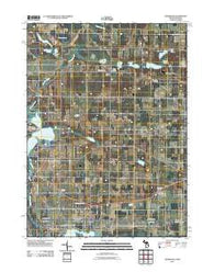 Adamsville Michigan Historical topographic map, 1:24000 scale, 7.5 X 7.5 Minute, Year 2011
