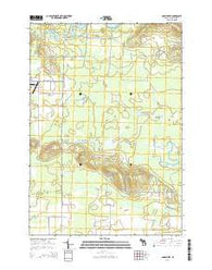 Addis Creek Michigan Historical topographic map, 1:24000 scale, 7.5 X 7.5 Minute, Year 2014