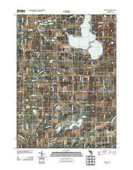 Addison Michigan Historical topographic map, 1:24000 scale, 7.5 X 7.5 Minute, Year 2011
