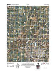 Adrian Michigan Historical topographic map, 1:24000 scale, 7.5 X 7.5 Minute, Year 2011