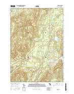 Avery Michigan Current topographic map, 1:24000 scale, 7.5 X 7.5 Minute, Year 2017 from Michigan Map Store