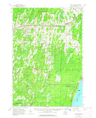 Bark River Michigan Historical topographic map, 1:62500 scale, 15 X 15 Minute, Year 1963