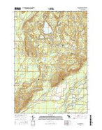 Black Creek Michigan Current topographic map, 1:24000 scale, 7.5 X 7.5 Minute, Year 2017 from Michigan Map Store