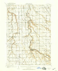 Burt Michigan Historical topographic map, 1:62500 scale, 15 X 15 Minute, Year 1919