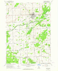 Cass City Michigan Historical topographic map, 1:24000 scale, 7.5 X 7.5 Minute, Year 1963