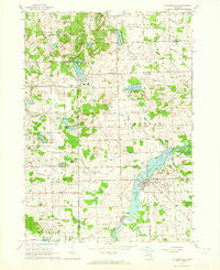 Columbiaville Michigan Historical topographic map, 1:24000 scale, 7.5 X 7.5 Minute, Year 1963