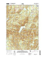 Crooked Lake Michigan Current topographic map, 1:24000 scale, 7.5 X 7.5 Minute, Year 2017 from Michigan Map Store