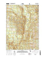 Damon Michigan Current topographic map, 1:24000 scale, 7.5 X 7.5 Minute, Year 2017 from Michigan Map Store
