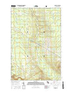 Firesteel Michigan Current topographic map, 1:24000 scale, 7.5 X 7.5 Minute, Year 2017 from Michigan Map Store