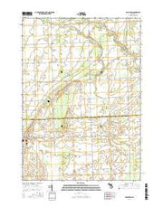 Gagetown Michigan Current topographic map, 1:24000 scale, 7.5 X 7.5 Minute, Year 2017 from Michigan Maps Store