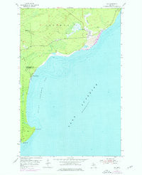 Gay Michigan Historical topographic map, 1:24000 scale, 7.5 X 7.5 Minute, Year 1954