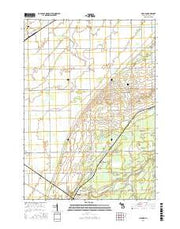 Gilford Michigan Current topographic map, 1:24000 scale, 7.5 X 7.5 Minute, Year 2017 from Michigan Maps Store