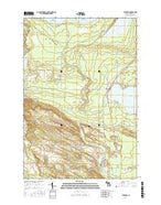 Levering Michigan Current topographic map, 1:24000 scale, 7.5 X 7.5 Minute, Year 2017 from Michigan Map Store