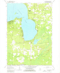 Lyon Manor Michigan Historical topographic map, 1:24000 scale, 7.5 X 7.5 Minute, Year 1963