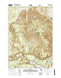 Marilla Michigan Current topographic map, 1:24000 scale, 7.5 X 7.5 Minute, Year 2016