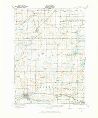 Marshall Michigan Historical topographic map, 1:62500 scale, 15 X 15 Minute, Year 1921