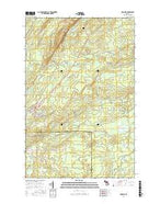 Mohawk Michigan Current topographic map, 1:24000 scale, 7.5 X 7.5 Minute, Year 2017 from Michigan Map Store