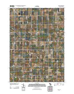 Riley Michigan Historical topographic map, 1:24000 scale, 7.5 X 7.5 Minute, Year 2012