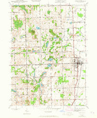 Romeo Michigan Historical topographic map, 1:24000 scale, 7.5 X 7.5 Minute, Year 1943