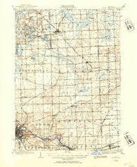South Lyon Michigan Historical topographic map, 1:62500 scale, 15 X 15 Minute, Year 1902