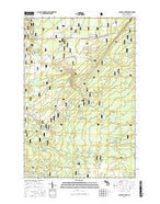 Sullivan Creek Michigan Current topographic map, 1:24000 scale, 7.5 X 7.5 Minute, Year 2017 from Michigan Map Store
