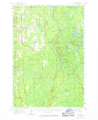 Trenary Michigan Historical topographic map, 1:62500 scale, 15 X 15 Minute, Year 1958