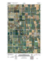Ada Minnesota Historical topographic map, 1:24000 scale, 7.5 X 7.5 Minute, Year 2010