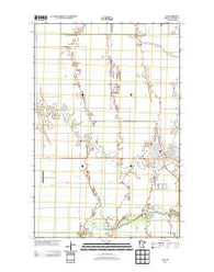 Ada Minnesota Historical topographic map, 1:24000 scale, 7.5 X 7.5 Minute, Year 2013