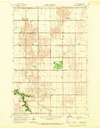 Ada NW Minnesota Historical topographic map, 1:24000 scale, 7.5 X 7.5 Minute, Year 1965