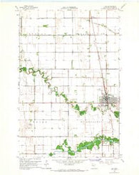 Ada Minnesota Historical topographic map, 1:24000 scale, 7.5 X 7.5 Minute, Year 1965
