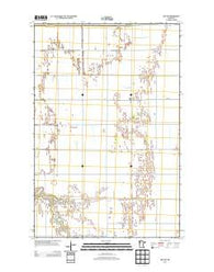 Ada NW Minnesota Historical topographic map, 1:24000 scale, 7.5 X 7.5 Minute, Year 2013
