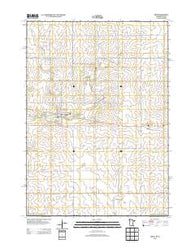 Adams Minnesota Historical topographic map, 1:24000 scale, 7.5 X 7.5 Minute, Year 2013