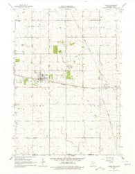 Adams Minnesota Historical topographic map, 1:24000 scale, 7.5 X 7.5 Minute, Year 1965