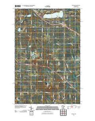 Adolph Minnesota Historical topographic map, 1:24000 scale, 7.5 X 7.5 Minute, Year 2010
