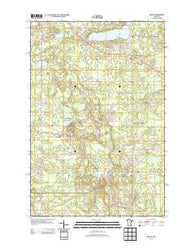 Adolph Minnesota Historical topographic map, 1:24000 scale, 7.5 X 7.5 Minute, Year 2013