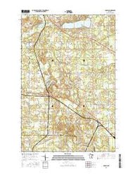 Adolph Minnesota Current topographic map, 1:24000 scale, 7.5 X 7.5 Minute, Year 2016