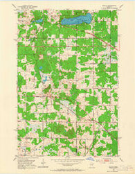 Adolph Minnesota Historical topographic map, 1:24000 scale, 7.5 X 7.5 Minute, Year 1953