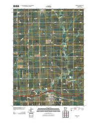 Adrian Minnesota Historical topographic map, 1:24000 scale, 7.5 X 7.5 Minute, Year 2010