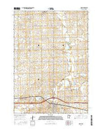 Adrian Minnesota Current topographic map, 1:24000 scale, 7.5 X 7.5 Minute, Year 2016 from Minnesota Map Store