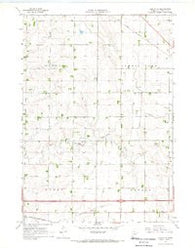 Adrian NE Minnesota Historical topographic map, 1:24000 scale, 7.5 X 7.5 Minute, Year 1967