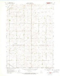 Adrian SW Minnesota Historical topographic map, 1:24000 scale, 7.5 X 7.5 Minute, Year 1967
