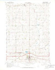 Adrian Minnesota Historical topographic map, 1:24000 scale, 7.5 X 7.5 Minute, Year 1967