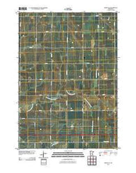 Adrian NE Minnesota Historical topographic map, 1:24000 scale, 7.5 X 7.5 Minute, Year 2010