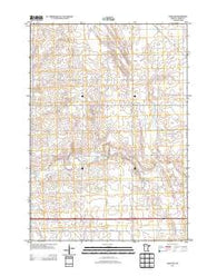 Adrian NE Minnesota Historical topographic map, 1:24000 scale, 7.5 X 7.5 Minute, Year 2013